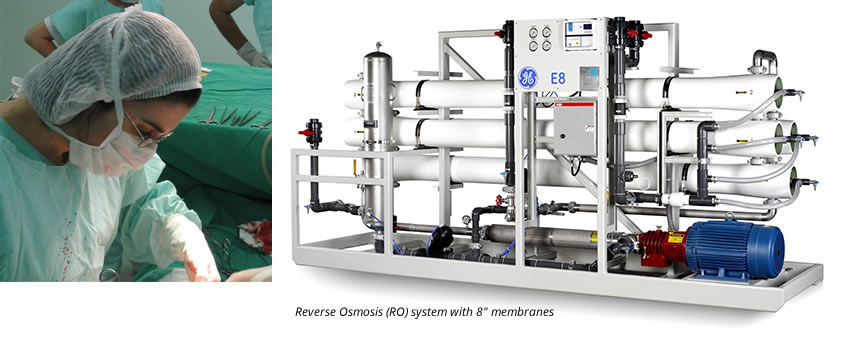 Hospital and Universities Water Filtration