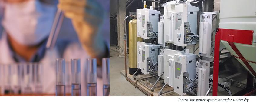 Laboratories Water Filtration